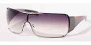Prada PS 51GS Sunglasses - 1BC5D1 Silver/Gray Gradient