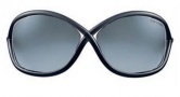 Tom Ford 0009 Whitney  Sunglasses - B5 Dary Grey - Rose Gold Temple / Smoke Gradient Lens