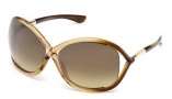 Tom Ford 0009 Whitney  Sunglasses - 74F Pink / Gradient Brown