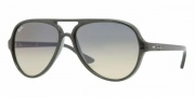 Ray-Ban RB4125 Sunglasses CATS 5000  Sunglasses - 738/3E Dark Lilac/Crystal Pink Mirror Silver