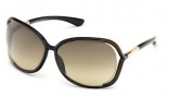 Tom Ford 0076 Raquel Sunglasses - U45 Black Backspray Pearl Olive / Rose Gold - Gradient Olive
