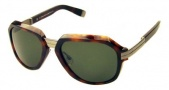 DSquared2 DQ0007/S Sunglasses - (52N)Havana/Green