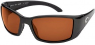 Costa Del Mar Blackfin - Matte Black Frame Sunglasses - Copper / 580G