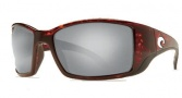Costa Del Mar Blackfin Sunglasses Tortoise Frame Sunglasses - Silver Mirror / 580G