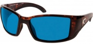 Costa Del Mar Blackfin Sunglasses Tortoise Frame Sunglasses - Blue Mirror / 580G