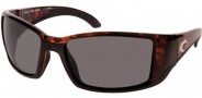 Costa Del Mar Blackfin Sunglasses Tortoise Frame Sunglasses - Gray / 580G