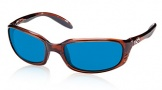 Costa Del Mar Brine Sunglasses Shiny Tortoise Frame Sunglasses - Vermillion Glass/COSTA 400