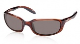 Costa Del Mar Brine Sunglasses Shiny Tortoise Frame Sunglasses - Gray / 580P