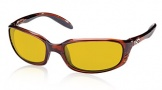 Costa Del Mar Brine Sunglasses Shiny Tortoise Frame Sunglasses - Sunrise / 580P