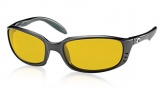 Costa Del Mar Brine Sunglasses Matte Black Frame Sunglasses - Sunrise Glass/COSTA 400