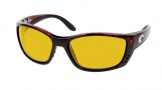 Costa Del Mar Fisch Sunglasses Shiny Tortoise Frame Sunglasses - Sunrise / 580P