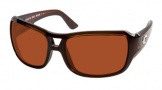 Costa Del Mar Gallo - Shiny Tortoise Frame Sunglasses - Copper Glass/COSTA 580