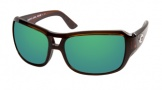 Costa Del Mar Gallo - Shiny Tortoise Frame Sunglasses - Green Mirror Glass/COSTA 580