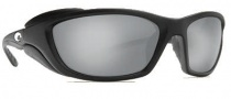 Costa Del Mar Man o War Sunglasses - Black Frame Sunglasses - Silver Mirror / 580G