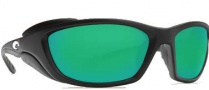 Costa Del Mar Man o War Sunglasses - Black Frame Sunglasses - Green Mirror / 580G