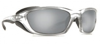 Costa Del Mar Man o War Sunglasses - Silver Frame Sunglasses - Silver Mirror / 580G