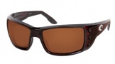 Costa Del Mar Permit Sunglasses Shiny Tortoise Frame Sunglasses - Sunrise Glass/COSTA 400