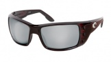 Costa Del Mar Permit Sunglasses Shiny Tortoise Frame Sunglasses - Gray Glass/COSTA 580