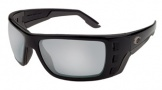 Costa Del Mar Permit Sunglasses Matte Black Frame Sunglasses - Gray Glass/COSTA 580