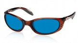 Costa Del Mar Stringer Sunglasses Shiny Tortoise Frame Sunglasses - Vermillion Glass/COSTA 400