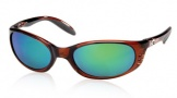 Costa Del Mar Stringer Sunglasses Shiny Tortoise Frame Sunglasses - Sunrise Glass/COSTA 400