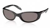 Costa Del Mar Stringer Sunglasses Shiny Black Frame Sunglasses - Gray Glass/COSTA 400