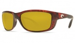 Costa Del Mar Zane Sunglasses - Shiny Tortoise Frame Sunglasses - Sunrise / 580P