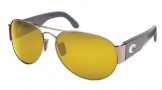 Costa Del Mar Cudjoe - Gunmetal Frame Sunglasses - Sunrise CR 39/COSTA 400