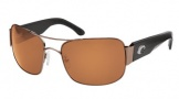 Costa Del Mar Placida - Gunmetal Frame Sunglasses - Amber CR 39/COSTA 400