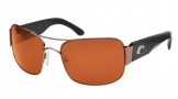 Costa Del Mar Placida - Gunmetal Frame Sunglasses - Vermillion CR 39/COSTA 400