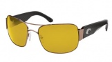 Costa Del Mar Placida - Gunmetal Frame Sunglasses - Sunrise CR 39/COSTA 400