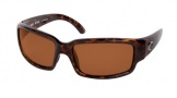 Costa Del Mar Caballito Sunglasses Shiny Tortoise Frame Sunglasses - Vermillion Glass/COSTA 400