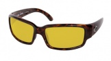 Costa Del Mar Caballito Sunglasses Shiny Tortoise Frame Sunglasses - Sunrise Glass/COSTA 400