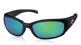 Costa Del Mar Hammerhead Sunglasses Shiny Black Sunglasses - Sunrise Glass/COSTA 400