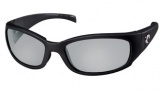 Costa Del Mar Hammerhead Sunglasses Shiny Black Sunglasses - Blue Mirror / 580G