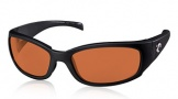 Costa Del Mar Hammerhead Sunglasses Shiny Black Sunglasses - Copper / 580P