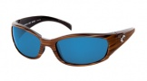 Costa Del Mar Hammerhead Sunglasses Driftwood Frame Sunglasses - Vermillion Glass/COSTA 400
