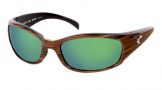 Costa Del Mar Hammerhead Sunglasses Driftwood Frame Sunglasses - Sunrise Glass/COSTA 400