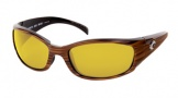 Costa Del Mar Hammerhead Sunglasses Driftwood Frame Sunglasses - Sunrise / 580P