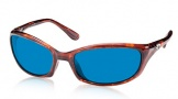 Costa Del Mar Harpoon Sunglasses Shiny Tortoise Frame Sunglasses - Vermillion Glass/COSTA 400