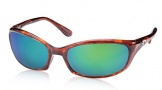Costa Del Mar Harpoon Sunglasses Shiny Tortoise Frame Sunglasses - Sunrise Glass/COSTA 400