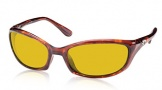 Costa Del Mar Harpoon Sunglasses Shiny Tortoise Frame Sunglasses - Sunrise / 580P