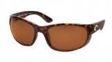 Costa Del Mar Howler Sunglasses Shiny Tortoise Frame Sunglasses - Vermillion Glass/COSTA 400