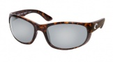 Costa Del Mar Howler Sunglasses Shiny Tortoise Frame Sunglasses - Copper Glass/COSTA 580