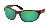 Costa Del Mar Howler Sunglasses Driftwood Frame Sunglasses - Copper Glass/COSTA 580