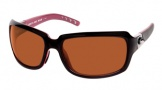 Costa Del Mar Isabela Sunglasses Black Coral Frame Sunglasses - Sunrise Glass/COSTA 400