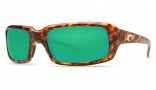 Costa Del Mar Switchfoot Sunglasses Tortoise Frame Sunglasses - Amber Glass/COSTA 400