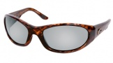 Costa Del Mar Swordfish - Shiny Tortoise Frame Sunglasses - Silver Mirror Glass/COSTA 580