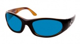 Costa Del Mar Swordfish - Black Tortoise Frame Sunglasses - Blue Mirror Glass/COSTA 400