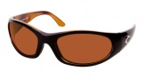 Costa Del Mar Swordfish - Black Tortoise Frame Sunglasses - Vermillion CR 39/COSTA 400